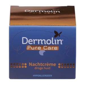 pure care nachtcrème droge huid hypoallergeen