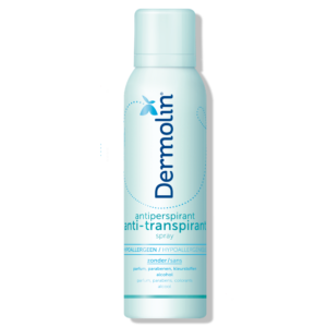Dermolin anti-transpirant spray