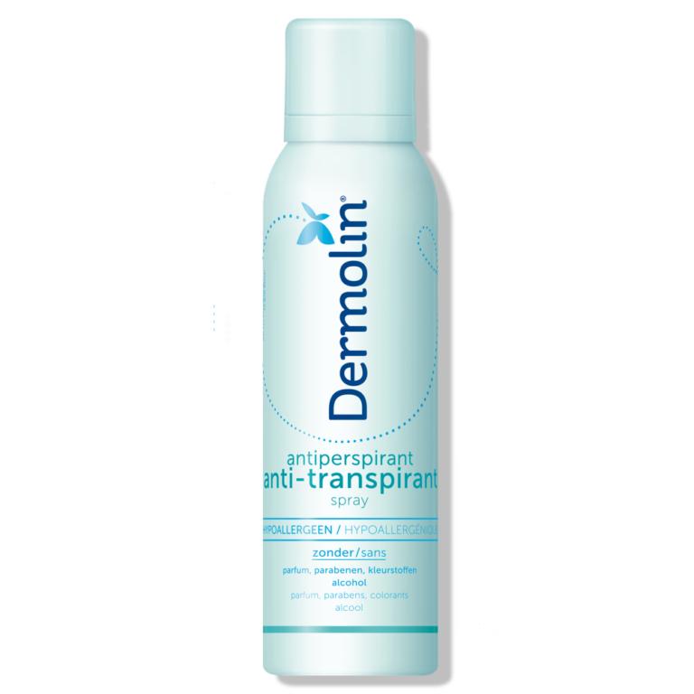 Dermolin anti-transpirant spray